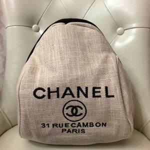 Handbags - New Authentic Beige Chanel VIP Gift Backpack Bag